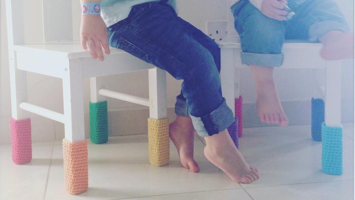 Crochet chair socks that saved our lease – truestory