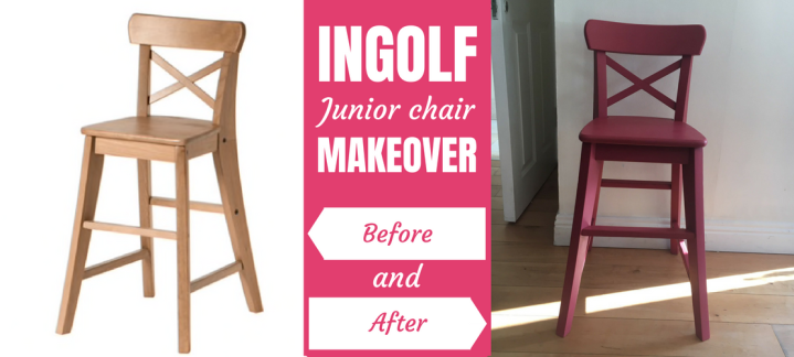 Ikea Hack: INGOLF Junior chair