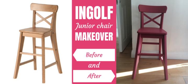 Ikea Hack: INGOLF Juniorchair