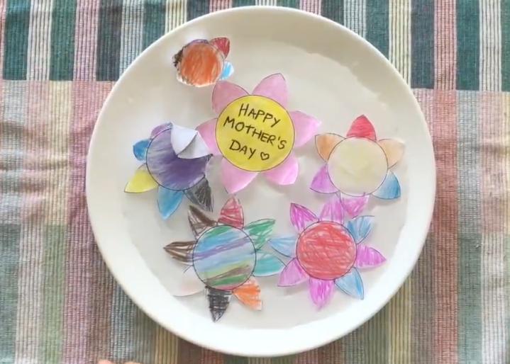 Blooming paper flowers – easycraft