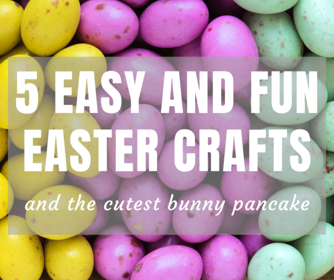 5 simple easter crafts for kids