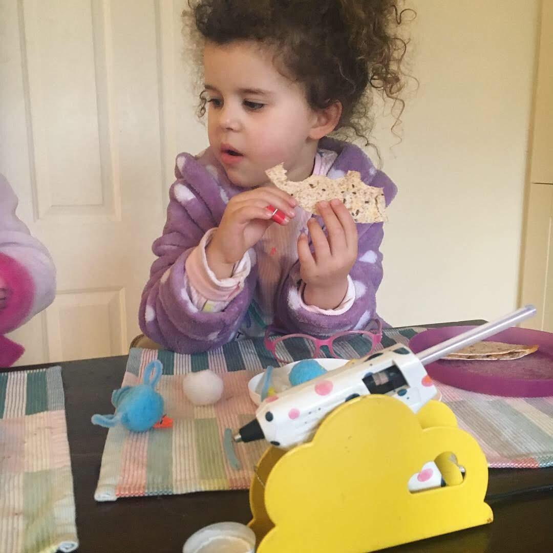 easter finger puppet craft for kids